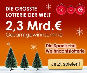 Spanische Weihnachtslotterie Gewinnzahlen