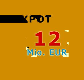 Jackpot 12 Millionen Euro