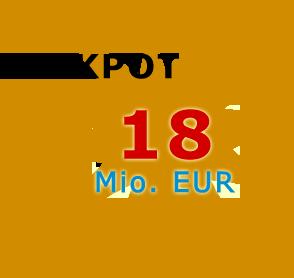 Jackpot 18 Millionen Euro