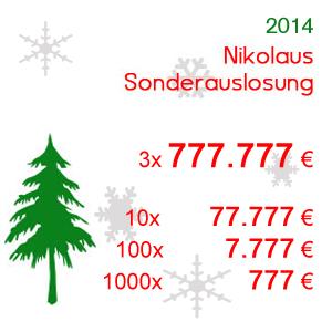 Nikolaus Sonderauslosung 2014