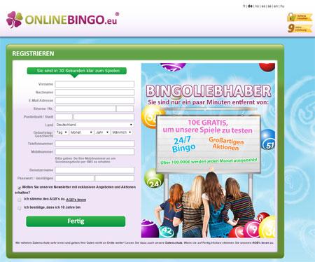Online Bingo - spil bingospil online