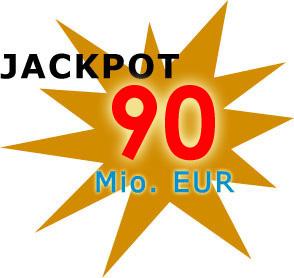 Jackpot 90 Millionen Euro