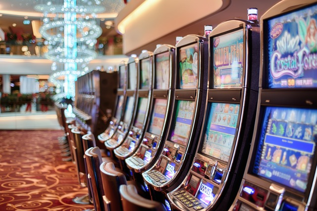 Slot-Maschinen in einem Casino | Foto: Pexels.com by CC0 License