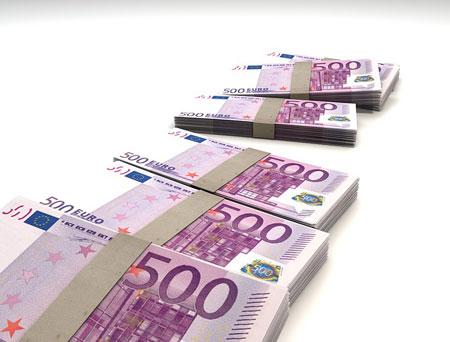 Ein Haufen Geld | Bild: pixabay.com, by CC0 Public Domain