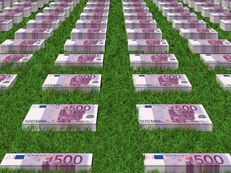 Jede Menge Euro-Scheine | Bild: geralt, pixabay.com, CC0 Public Domain