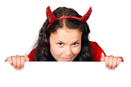Dieser Teufel bringt Glück | Foto: PublicDomainPictures, pixabay.com, CC0 Public Domain