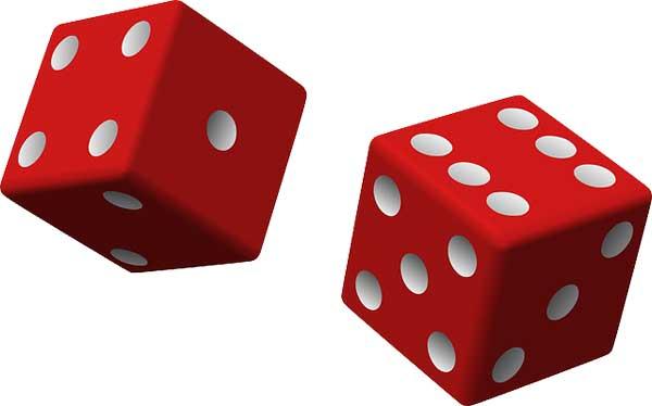 Spielwürfel | Bild: Clker-Free-Vector-Images, pixabay.com, CC0 Creative Commons