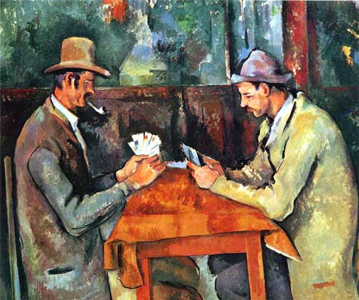 Das Kartenspiel | by Paul Cézanne (Author), gemeinfrei (Licence)