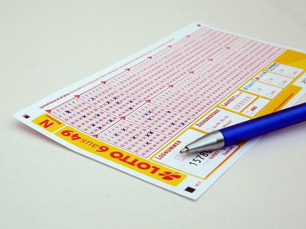 Lottoschein ausgefüllt | Foto: Hermann, pixabay.com, Pixabay License