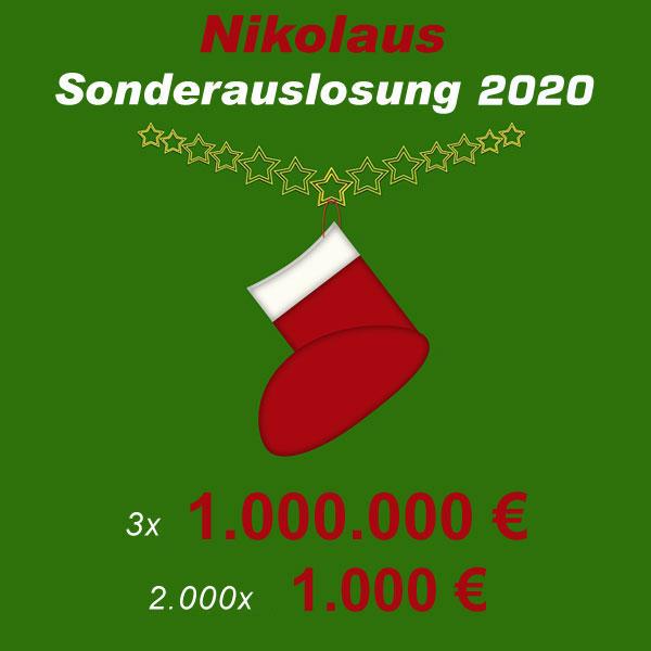 Nikolaus Sonderauslosung 2020